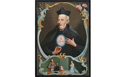 A rend alapítója, Kalazanci Szent József