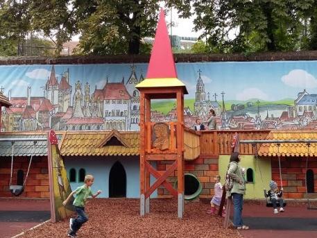 A problémás Mátyás király játszópark