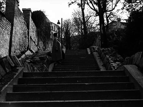 Linzi lépcső, fotó: Fortepan