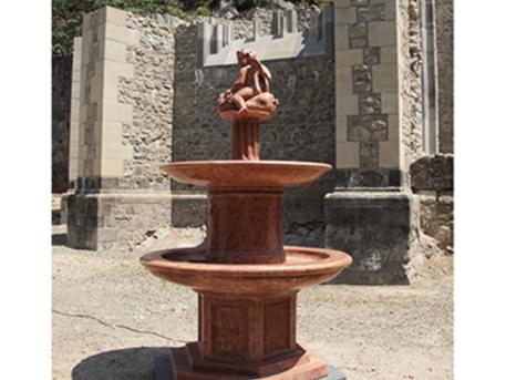 A múzsák kútja rekonstrukciója (fotó: történelemportál)