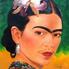 Frida Kahlo egyik önarcképe