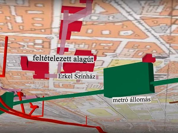 I Kerulet Budavar Elkeszult Budapest 3d S Foldalatti Terkepe