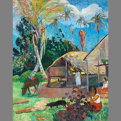 Ezt is láthatod, Gauguin: Fekete sertések