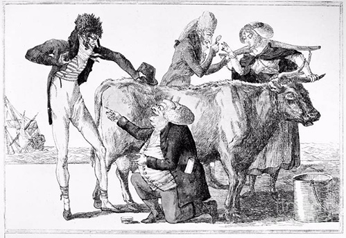 Jenner: Vaccination, 1796