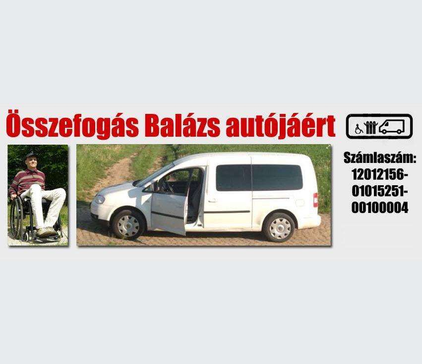 Balázs, az ellopott kocsi, illetve a gyűjtés számlaszáma