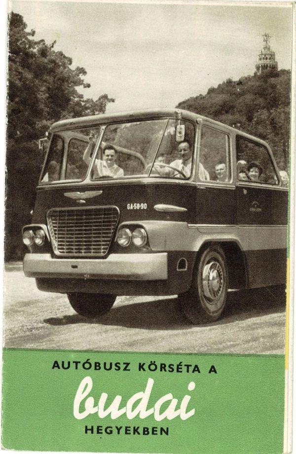 A nyitott Ikarusz 620-as (forrás: Kertész Z István gyűjteménye)