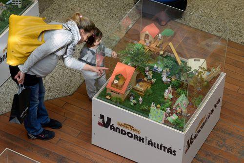 A játékkiállítás a MOM Parkban
